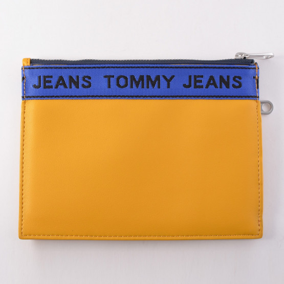 Tommy Jeans Logo Tape Pouch - Unisex Πορτοφόλι