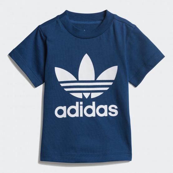 adidas Originals Infants Trefoil Tee 'Adicolor' - Βρεφικό Μπλουζάκι