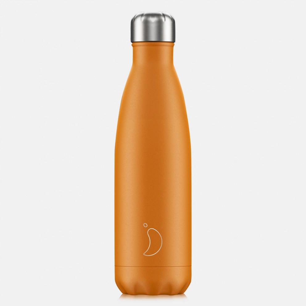 Chilly's Bottles Neon Orange 500ml