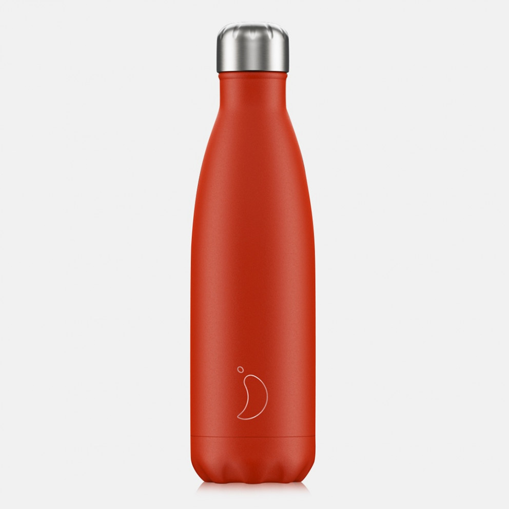 Chilly's Bottles Neon Red Μπουκάλι Θερμός 500ml