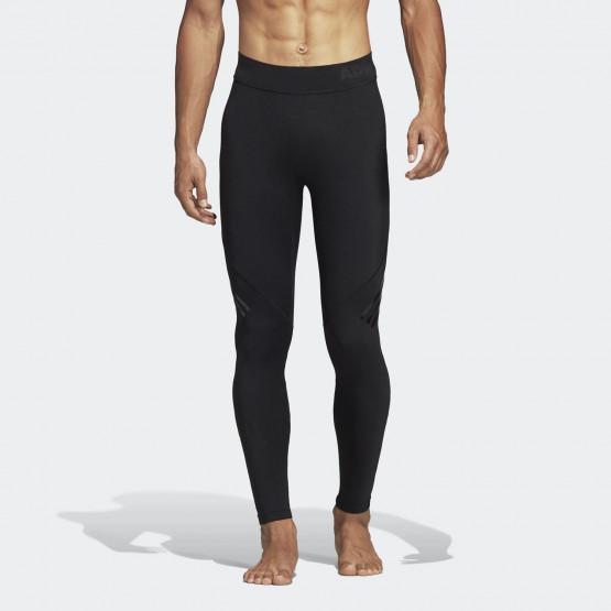 adidas Alphaskin Tech 3-Stripes Long Men's Tights