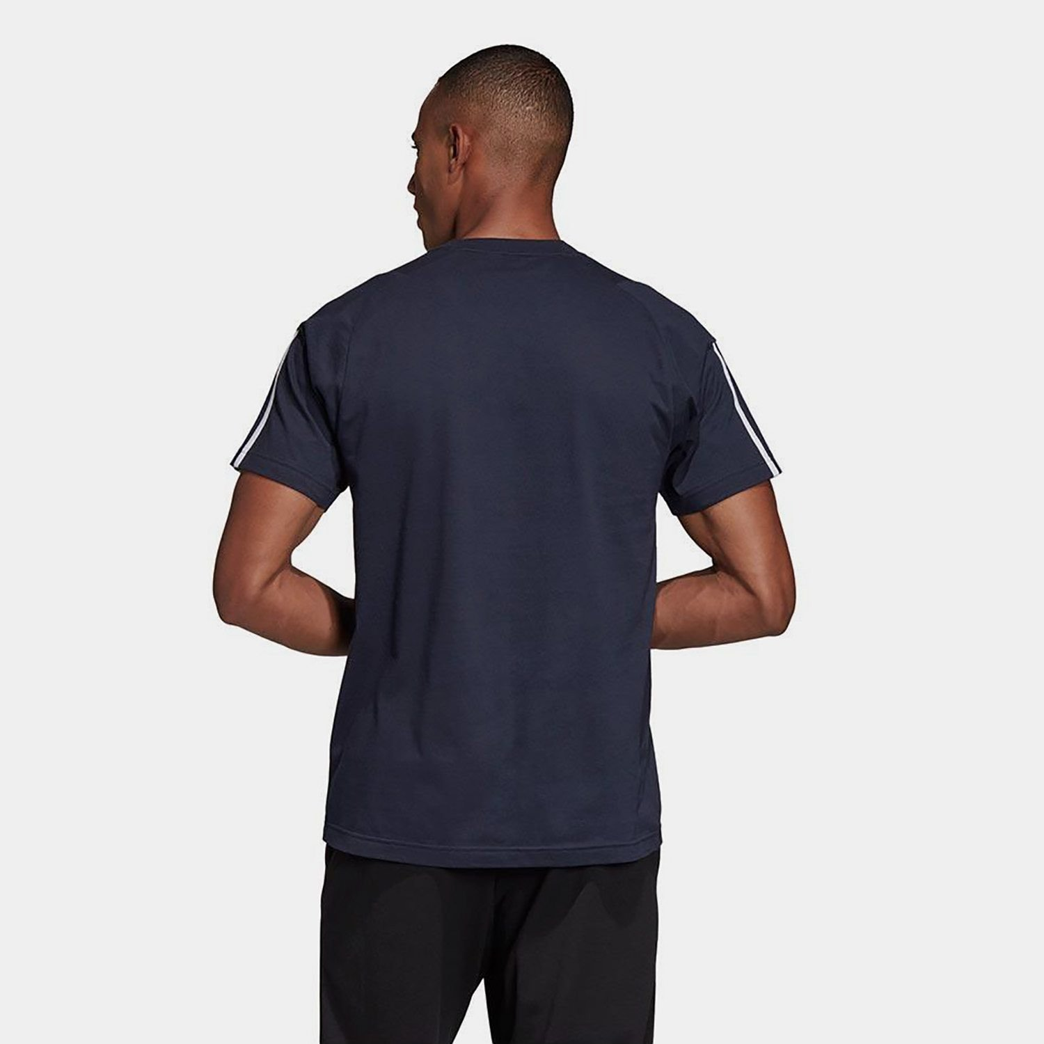 adidas Must Haves 3 Stripes Men's Tee