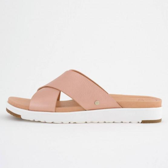 Ugg Kari Metallic Sandal | Γυναικείες Παντόφλες