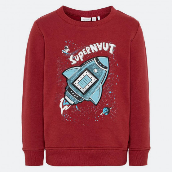 Name it Mini Rocket Print Sweatshirt