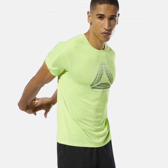Reebok Running Reflective Move Tee - Ανδρικό Μπλουζάκι