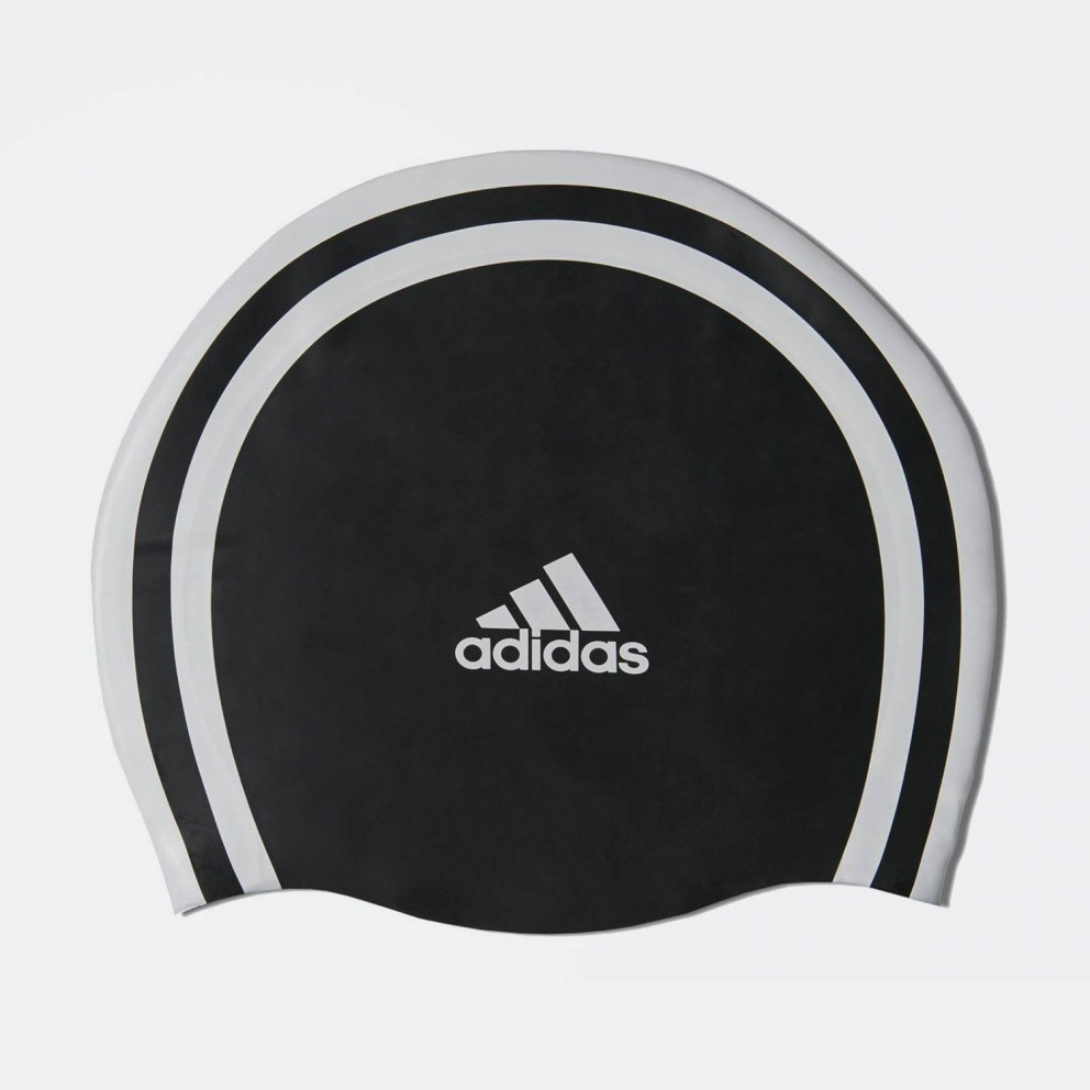adidas Performance 3-Stripes Swim Cap