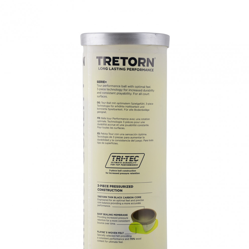 Tretorn Serie+ 4 Tube Μπαλακι Του Τεννισ