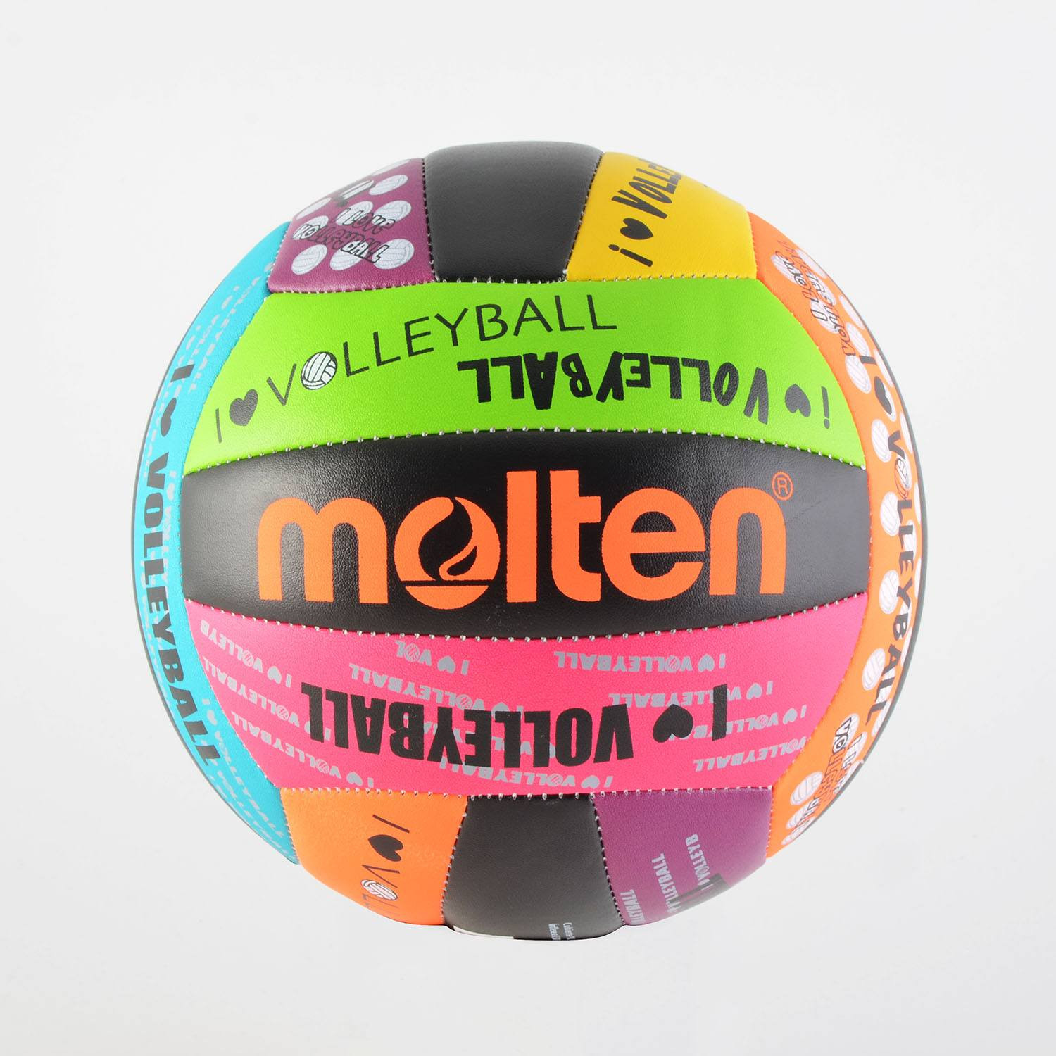 Molten Leather Volleyball Multicolour Ms500 Luv