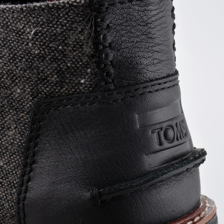 TOMS CHARCOAL FLECK MN CHUKKA BOOT