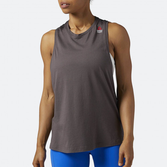 Reebok RCF  MUSCLE TANK -SPRAYED