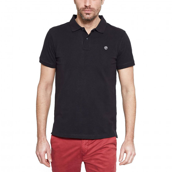 Timberland Millers River Pol Black | Ανδρικό Polo T-shirt