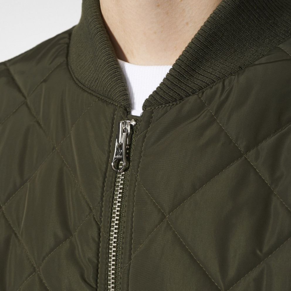 adidas Originals Long Quilted Bomber Jacket