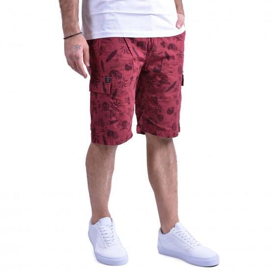Basehit Men's printed gd cargo short pants