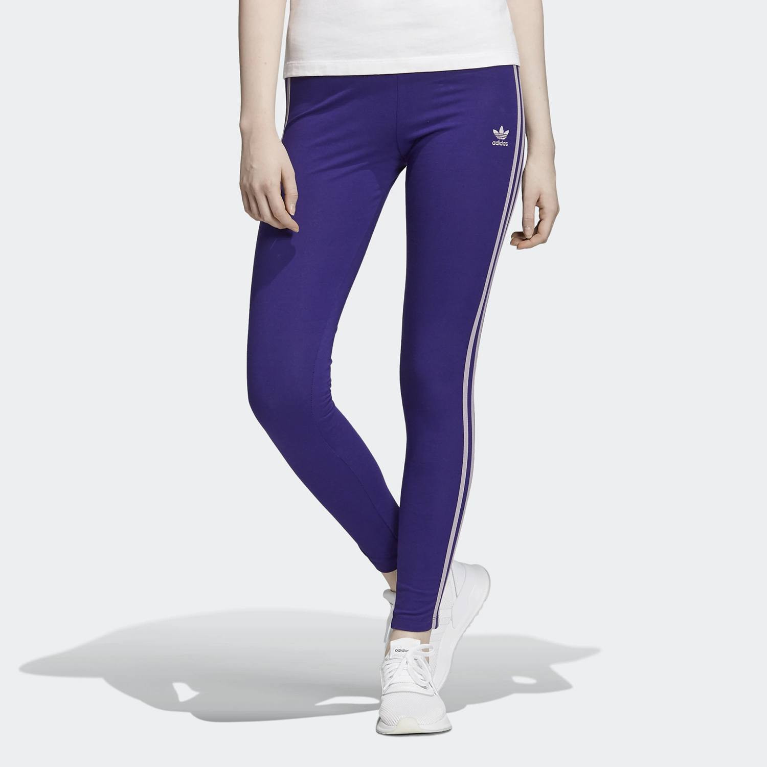 adidas Originals 3-Stripes Leggings - Γυναικείο Κολάν (9000032679_39897)