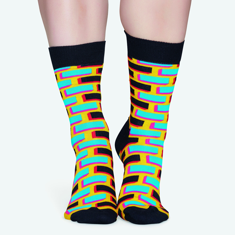 Happy Socks Brick Sock - Unisex Κάλτσες (9000041017_2074)