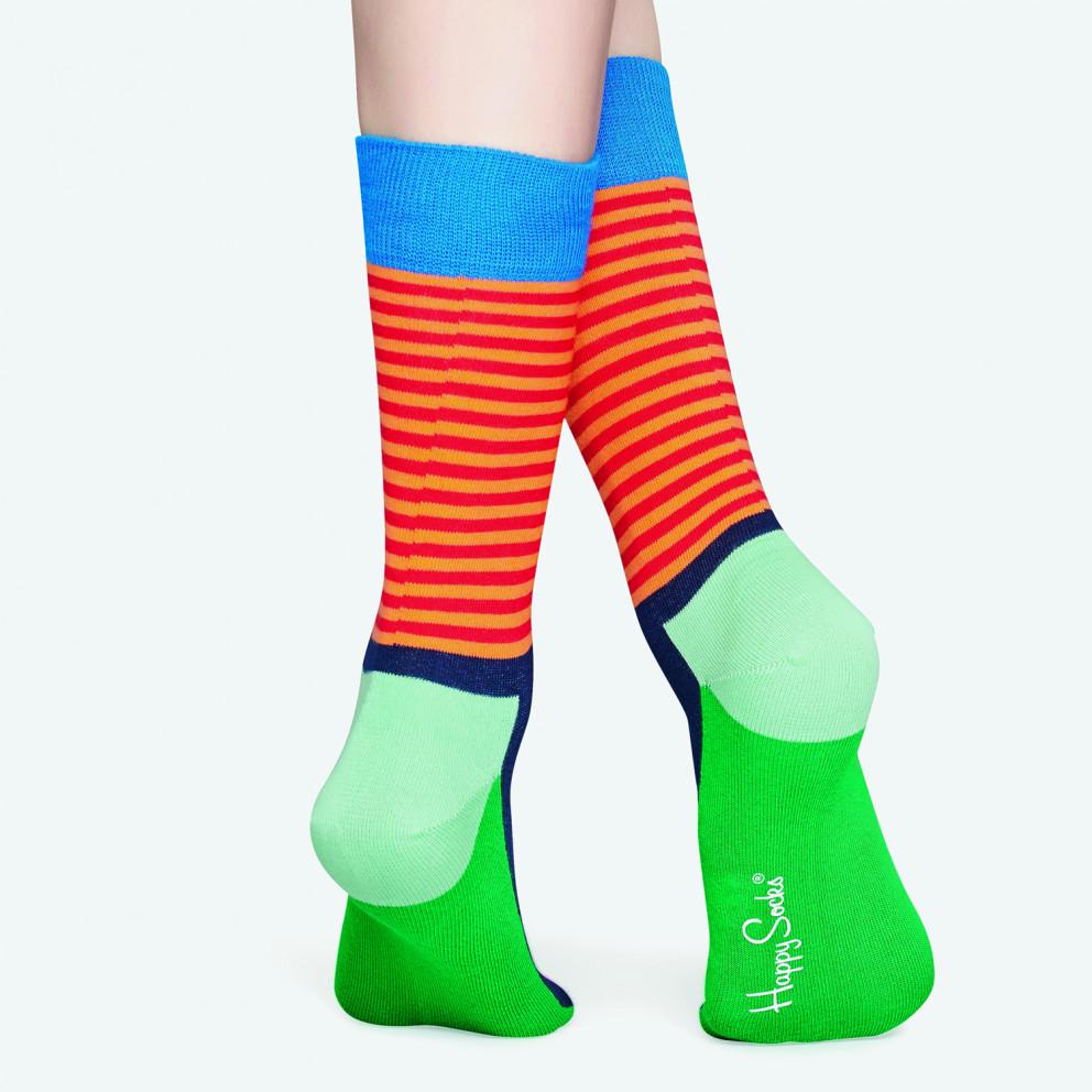 Happy Socks Half Stripe Sock