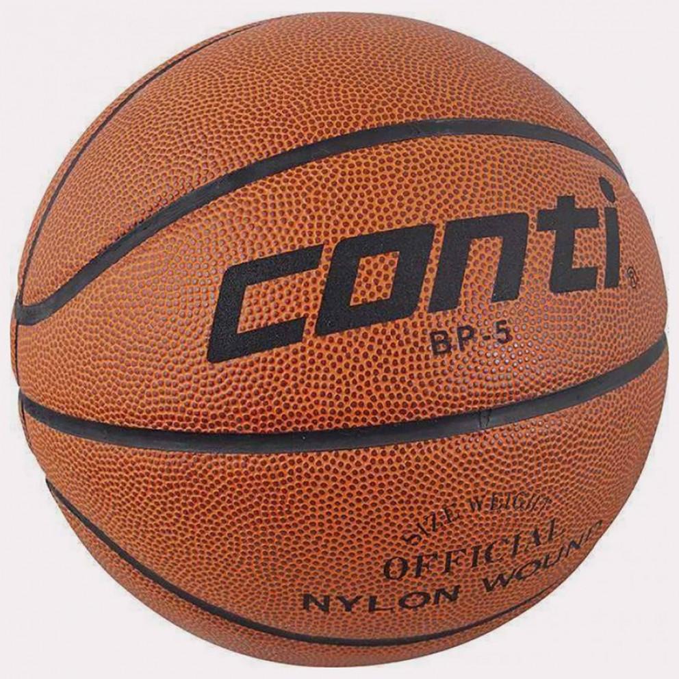 Conti BP-5 Ball For Basketball Νο. 5 Brown Black 41718