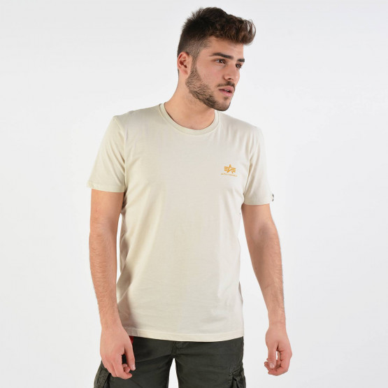 Alpha Industries Men's Basic Small Logo T-shirt - Ανδρικό Μπλουζάκι