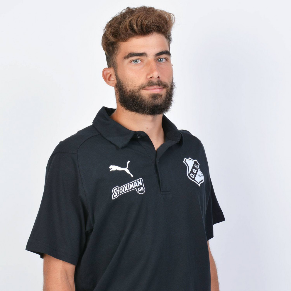 Puma x OFI Crete F.C. Liga Casual Ανδρικό Polo T-Shirt