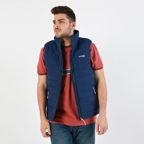 Emerson Men's Fake Down Quilted Vest Jacket - Ανδρικό Γιλέκο