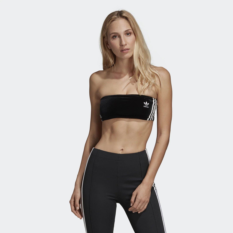 adidas Originals 3-Stripes Bra Top - Γυναικείο Μπουστάκι (9000022637_1469)
