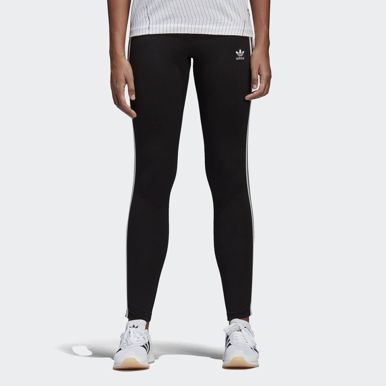 adidas Originals 3-Stripes Leggings - Γυναικείο Κολάν (9000001374_1469)