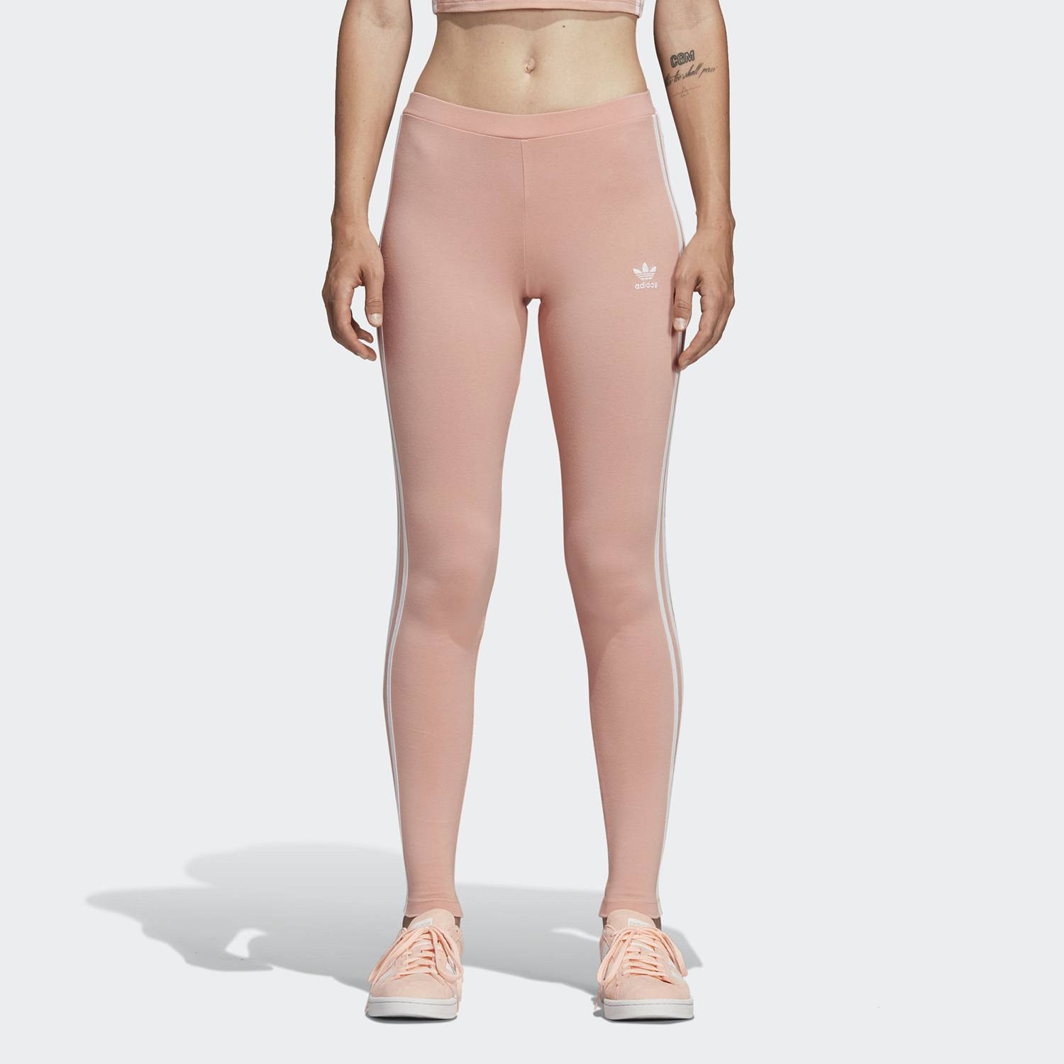 adidas Originals 3-Stripes Leggings - Γυναικείο Κολάν (9000022652_30847)
