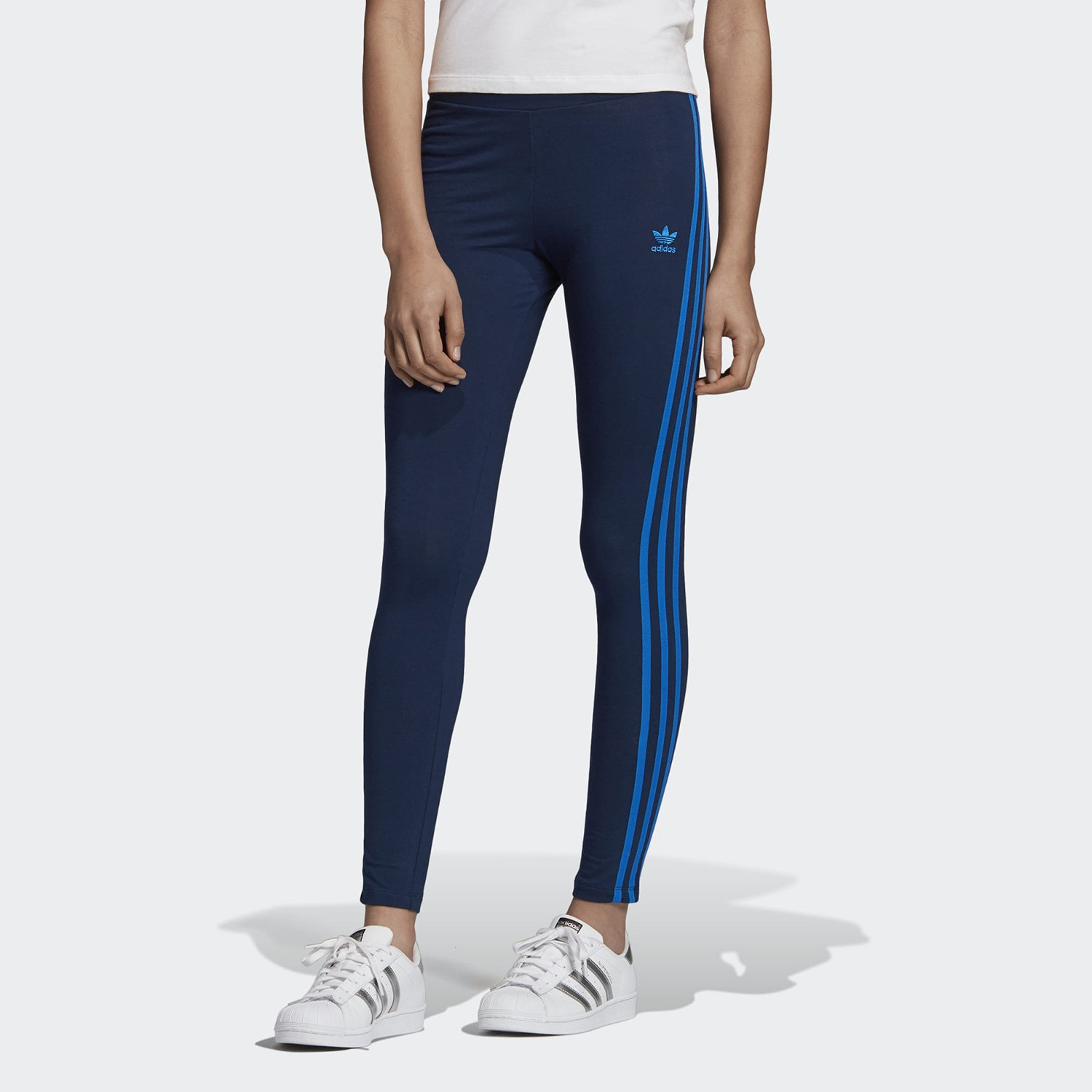 adidas Originals 3-Stripes Leggings - Γυναικείο Κολάν (9000031896_39534)