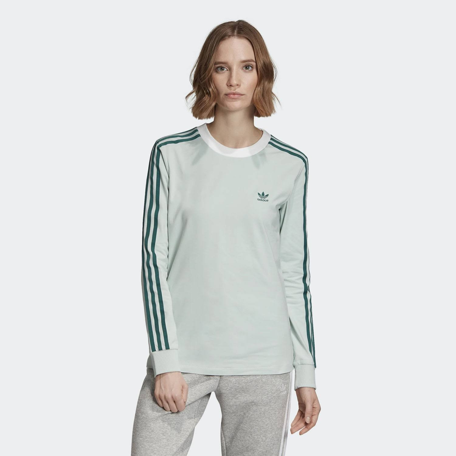 adidas Originals 3 Stripes Women's Tee (9000032505_21295)
