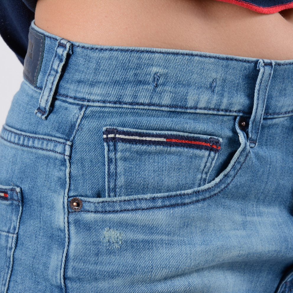 Tommy Jeans Hotrapant Denim Short   Γυναικείο Σορτς