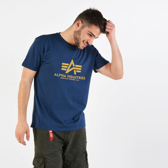 Alpha Industries Basic Men'S T-Shirt - Ανδρικό Μπλουζάκι