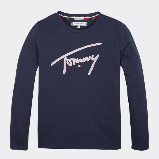 Tommy Jeans TOMMY SIGNATURE TEE L/S