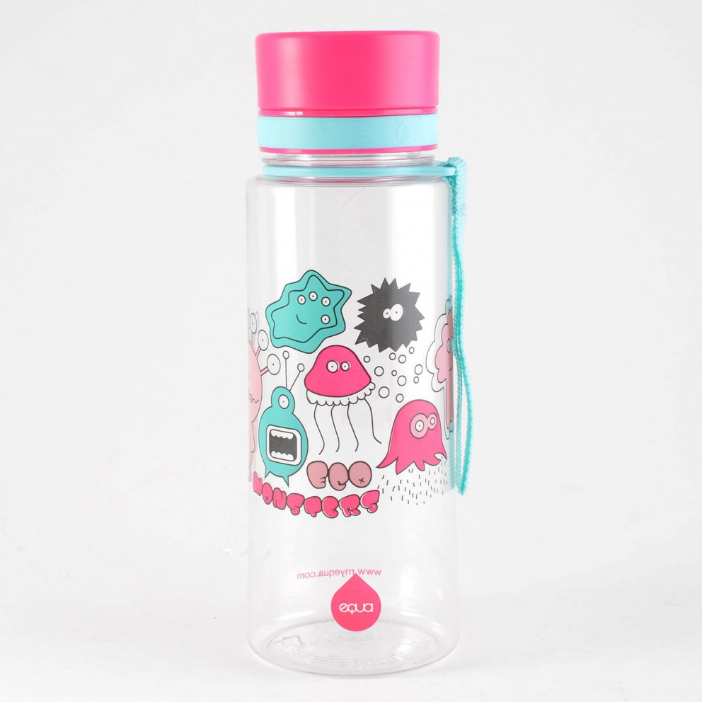 Equa Bottles Playfull Collection-Pink Monsters 600