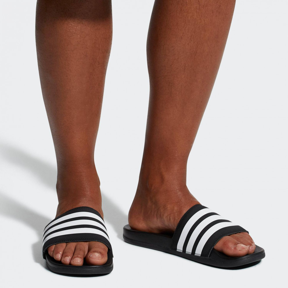 adidas Performance Men's Adilette Cloudfoam Plus Stripes Slides