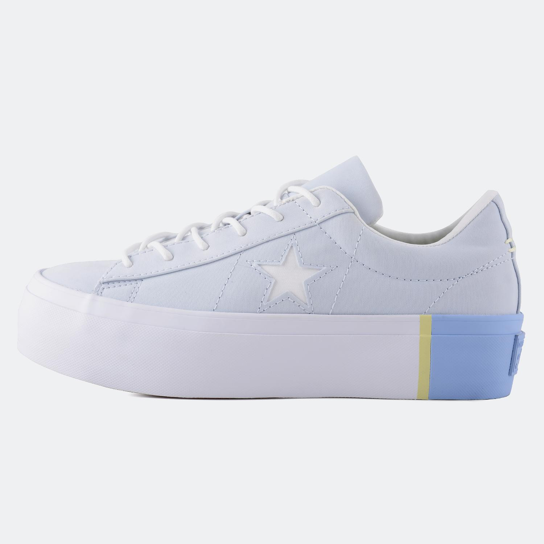 Converse One Star Platform Tri Block Low Top   Γυναικεία Sneakers