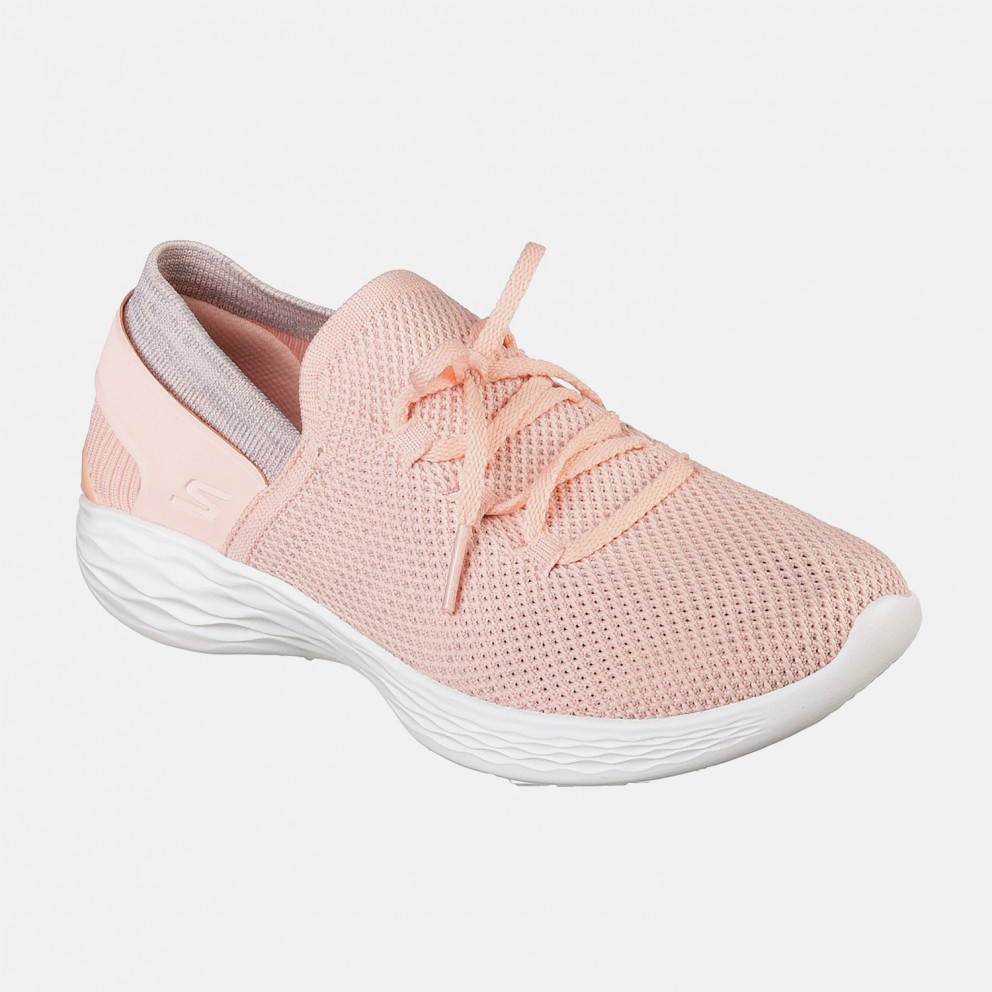 Skechers Two-Toned Knit Slip On W/ Lace