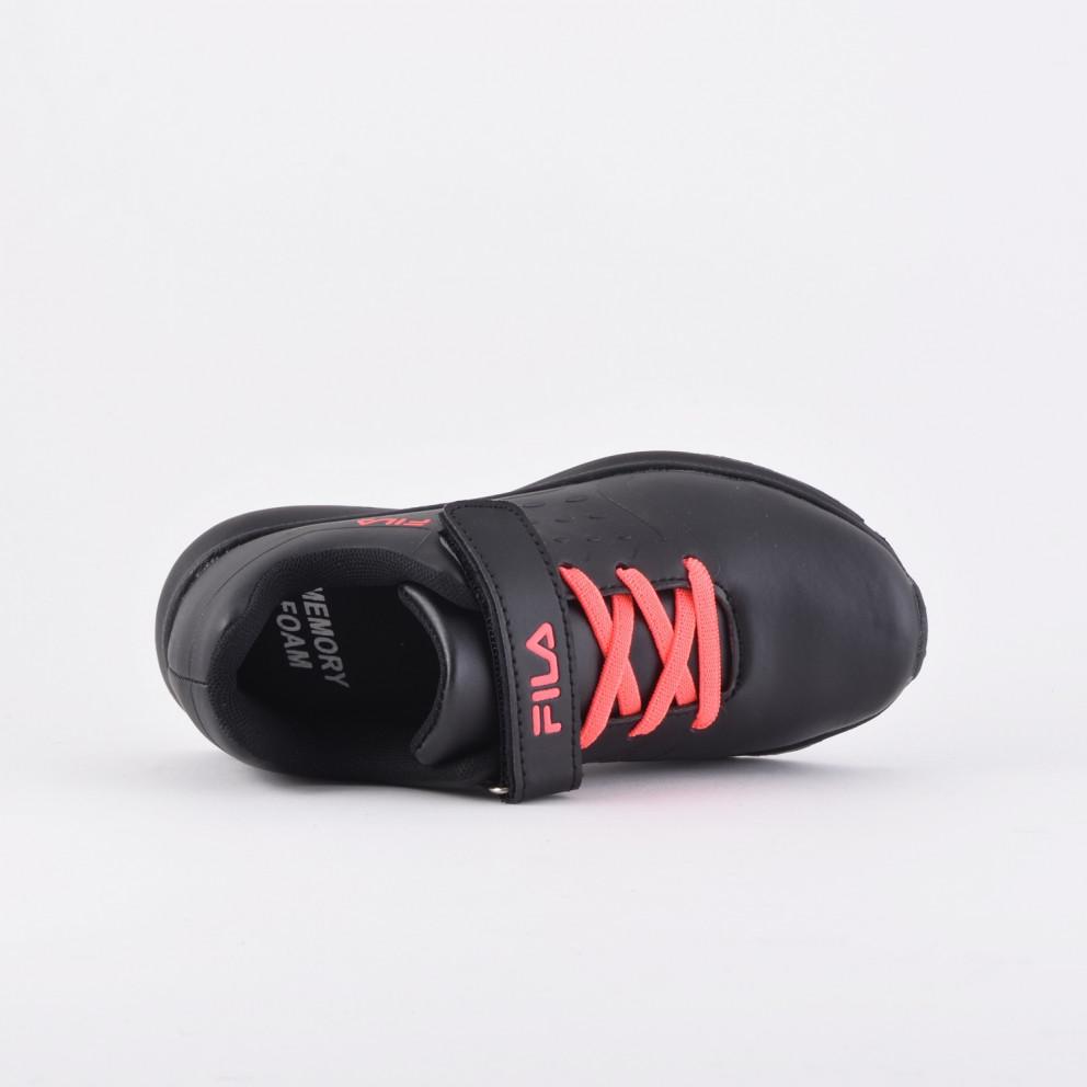 Fila Memory Skipper Leather Kid's Shoes