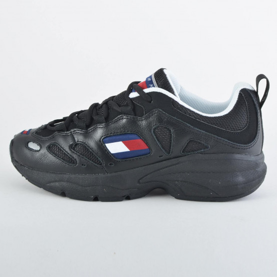Tommy Jeans Retro Leather Trainers