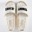 Tommy Jeans Metallic Star Print Sliders