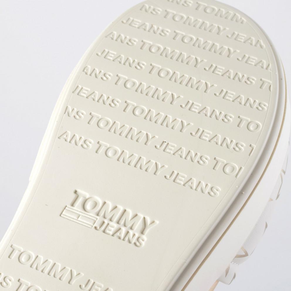 Tommy Jeans Metallic Star Print Sliders