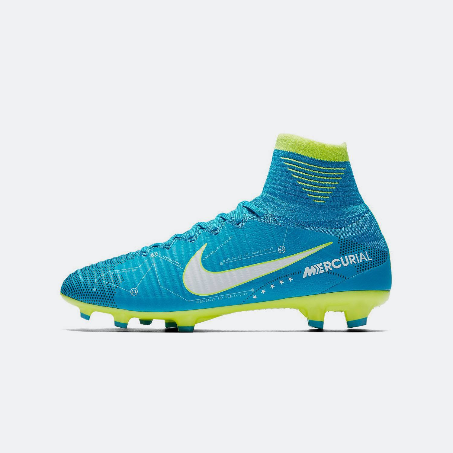 Nike Jr Mercurial Superfly V DF Neymar FG Cleats
