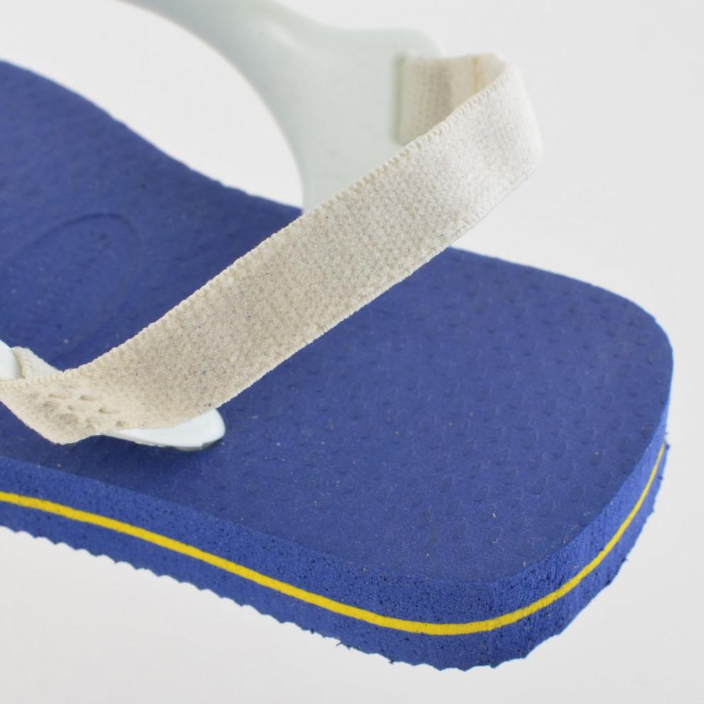 Havaianas Baby Brasil Logo Sandal