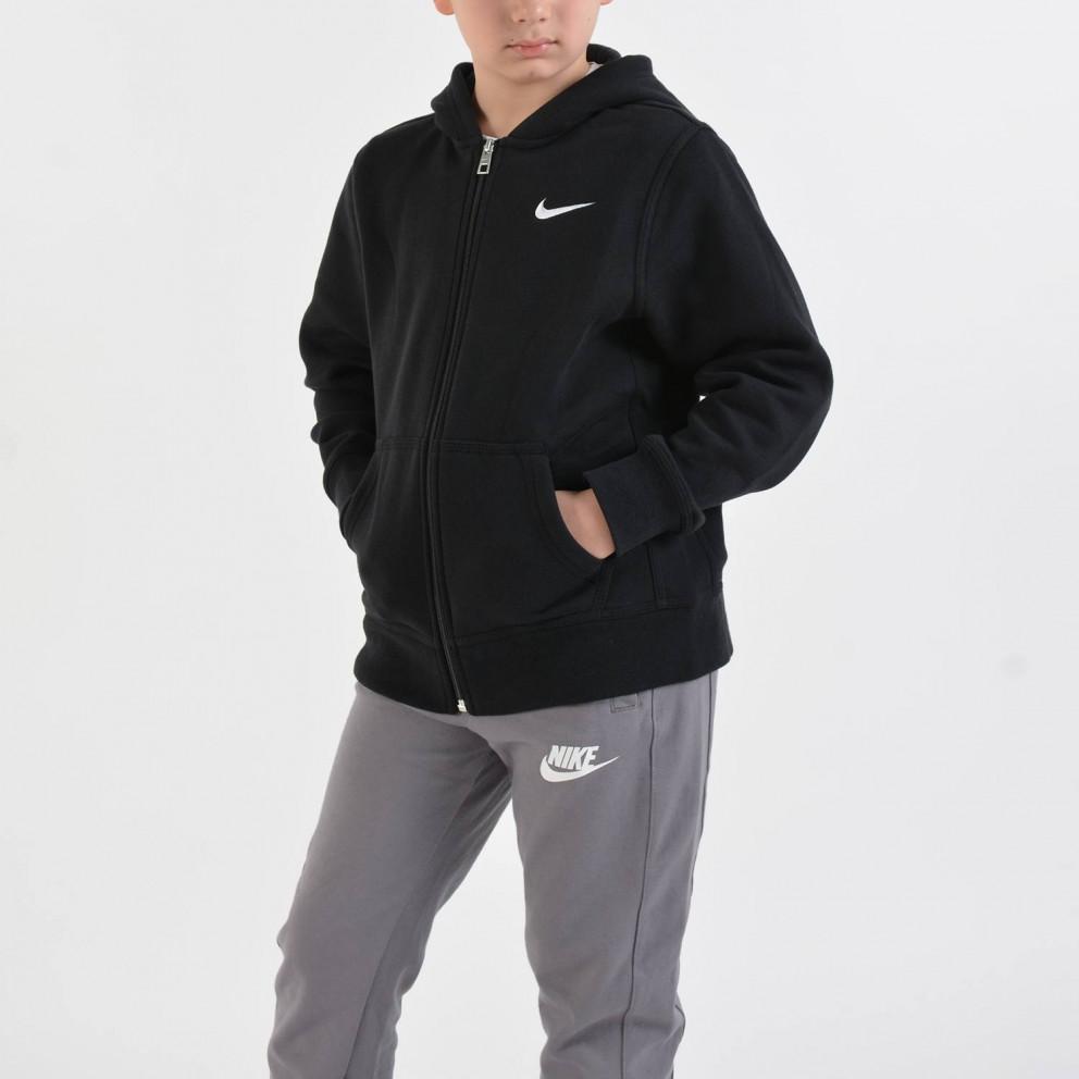 Nike Brushed FLeece Full-Zip | Παιδική Ζακέτα