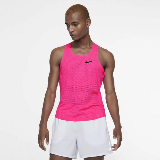 Nike AeroSwift Men's Running Vest - Ανδρική Μπλούζα
