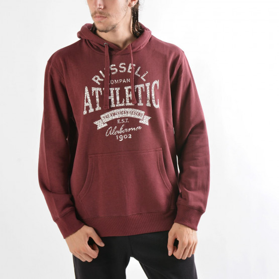 RUSSELL ATHLETIC Pull Over Sweat Hoodie with Graphic Print