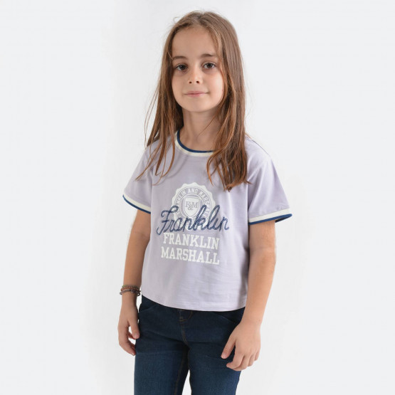 Franklin & Marshall Tipped Ringer Tee