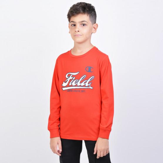 Champion Crewneck Sweatshirt - Παιδική Μακρυμάνικη Μπλούζα