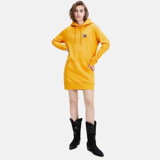 Tommy Jeans TOMMY BADGE HOODIE DRESS