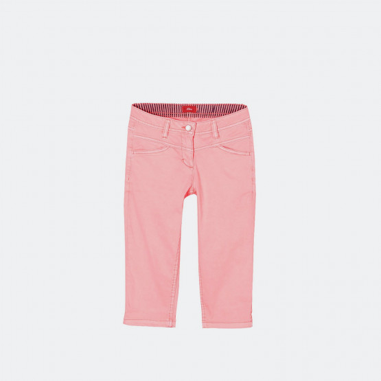 S.Oliver Capri Trousers In A Neon Colour