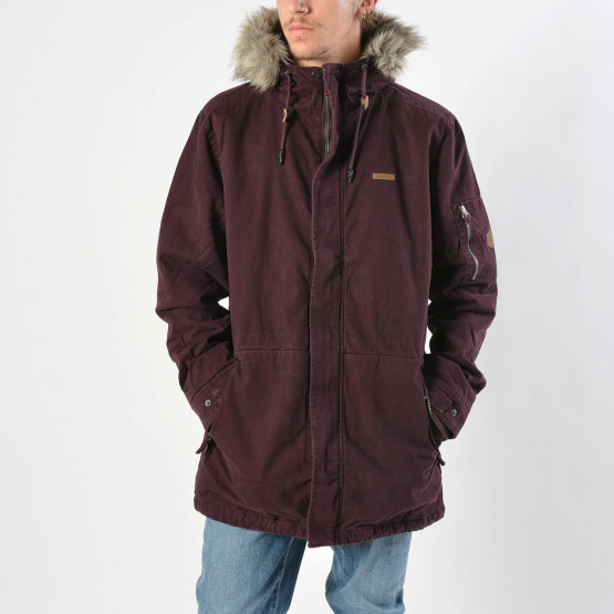 Basehit Men's Long Jacket